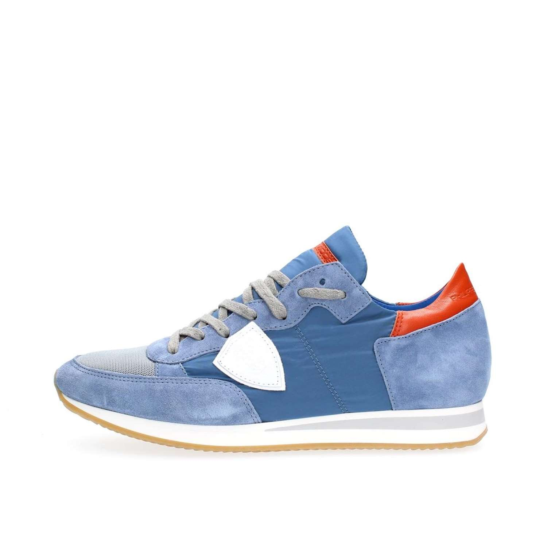 PHILIPPE MODEL PARIS TRLU 1104 Tropez Sneakers Homme fdae547d534