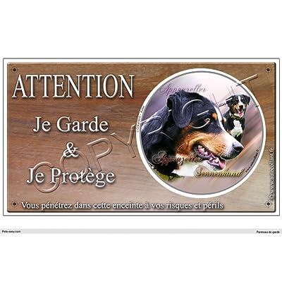 Panneau chien ou plaque Appenzeller-Sennenhund 20 cm