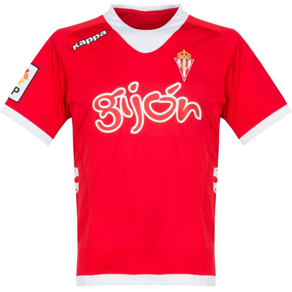 12 – 13 Sporting Gijon Away Jersey B078T2BXYY X-Large