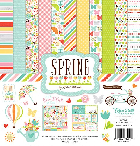 Echo Park Paper Company Spring Collection Kit