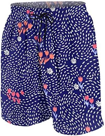 キッズ ビーチパンツ 花柄 幾何柄 サーフパンツ 海パン 水着 海水パンツ ショートパンツ サーフトランクス スポーツパンツ ジュニア 半ズボン ファッション 人気 おしゃれ 子供 青少年 ボーイズ 水陸両用