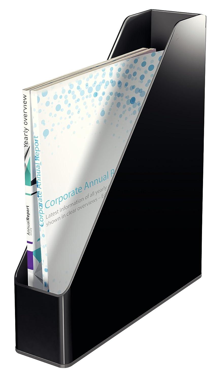 53620095 A4 Black//Grey Leitz Magazine File Dual Colour Range