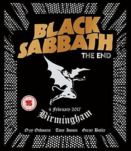 Blu-ray : Black Sabbath - The End: Birmingham - 4 February 2017 (United Kingdom - Import)