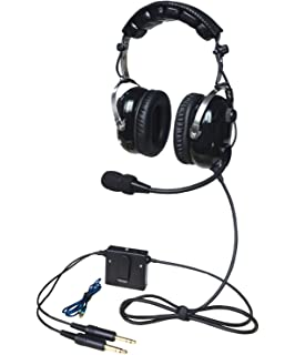 UFQ A28 Great ANR Aviation Headset Active Noise Reduction-Compare Rugged Air RA950 BUT UFQ