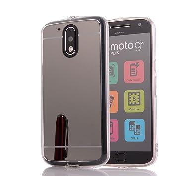 oceanhome Motorola Moto G4/Moto G4 Plus espejo Caso para ...