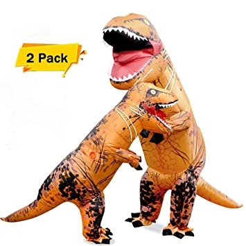 About Beauty 2Pcs Disfraces De Halloween Dinosaurio Traje ...
