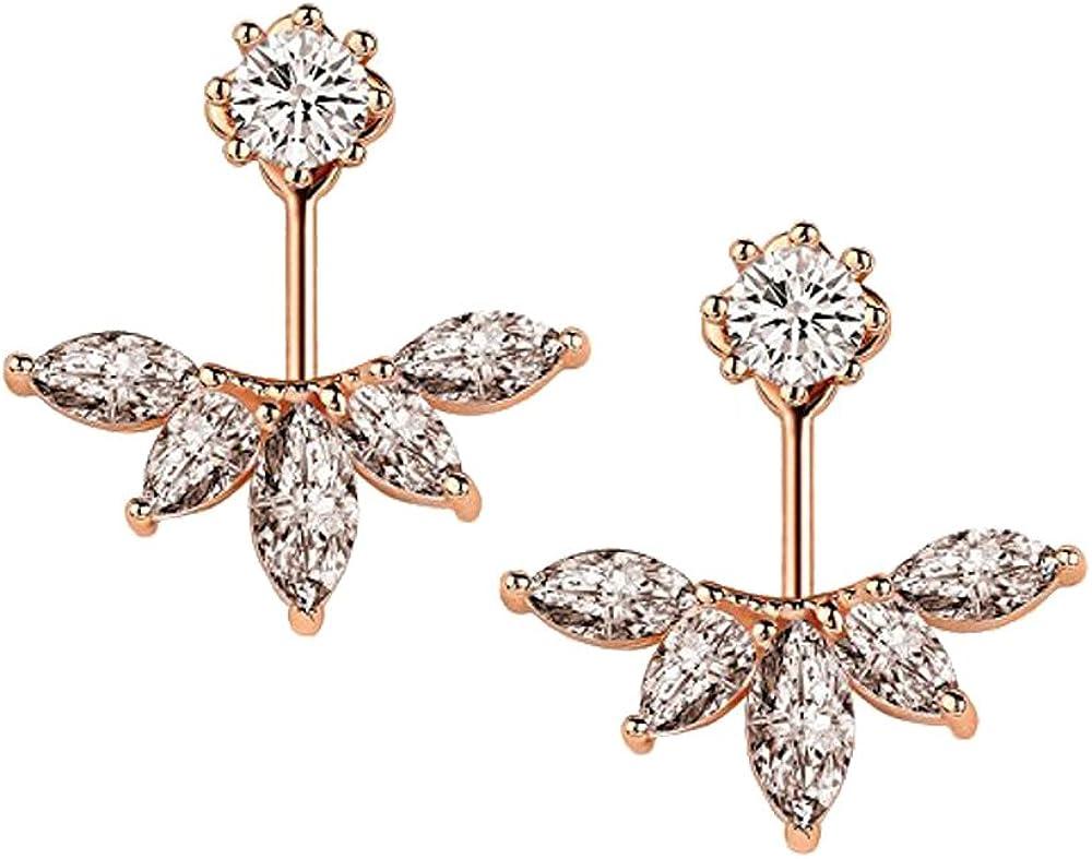 1 Pair Earrings lightweight Ear Stud Earrings Jackets Elegant Fashionable