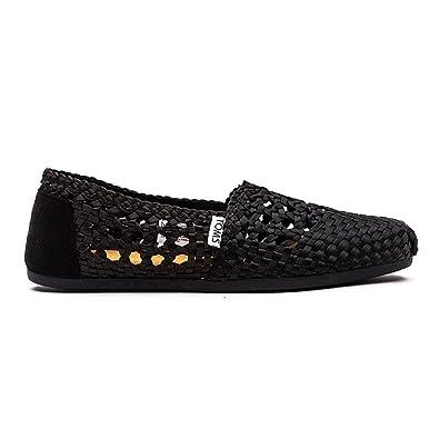 TOMS Classic Damen Schuhe Schwarz 7KZu1F0Zj
