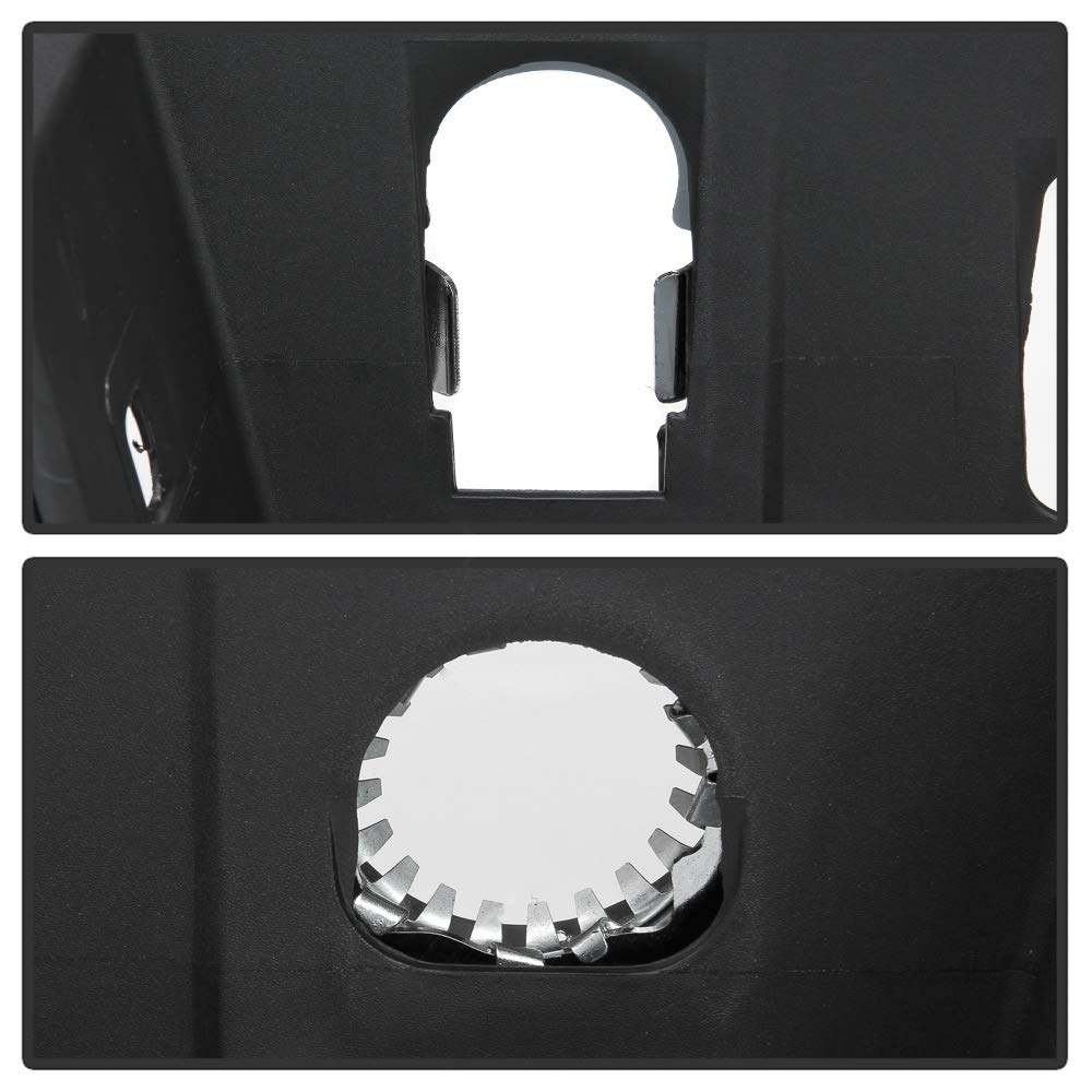 ACANII For 2014-2018 Chevy Silverado//GMC Sierra 1500 Chrome Rear Step Bumper Assembly W//O Sensor Holes w//Corner Holds