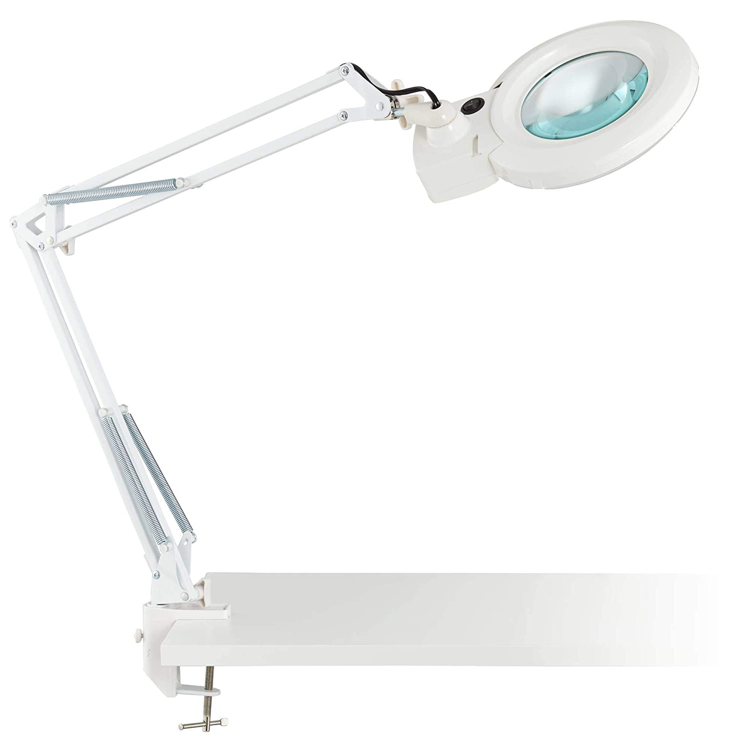 Lamp 3x5x Clancy Magnifier White Architect Led Desk wk08nPOX