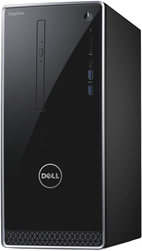 Dell Inspiron 3668 Desktop Intel Core i7-7700, 16GB Memory, 2 TB HDD, DVD/RW, NVIDIA GeForce GT 730 WIndows 10 Pro (Certified Refurbished)