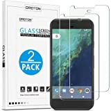 [Upgraded Version] Google Pixel Screen Protector, OMOTON [2 Pack] Tempered Glass Screen Protector [9H Hardness] [Scratch Proof] [Anti-Bubble] [High Definition] for Google Pixel [5.0 Inch] (2016 Released)