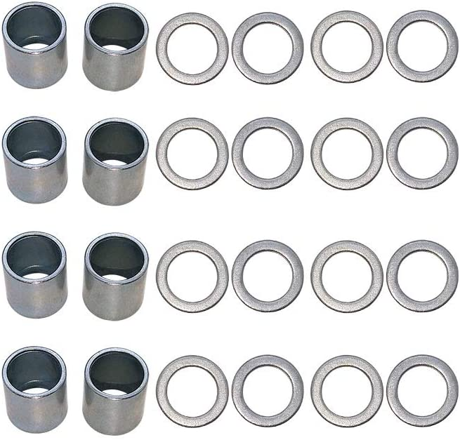 8pcs Spacers,16pcs Washers//40pcs Spacers,80pcs Washers Nimbus Spacers and Washers for Skateboards and Longboards