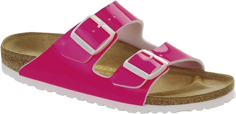 | Birkenstock Women's Arizona Sandal Neon Pink