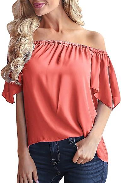 Topasy, blusa de gasa con hombros descubiertos, estilo ...