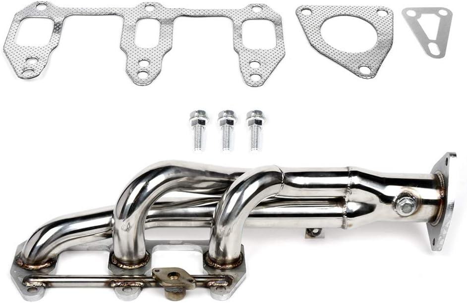 CCIYU Exhaust Manifold Racing Header Fits for 2003-2011 Mazda RX8 SE3P 1.3L Racing Header 3-1
