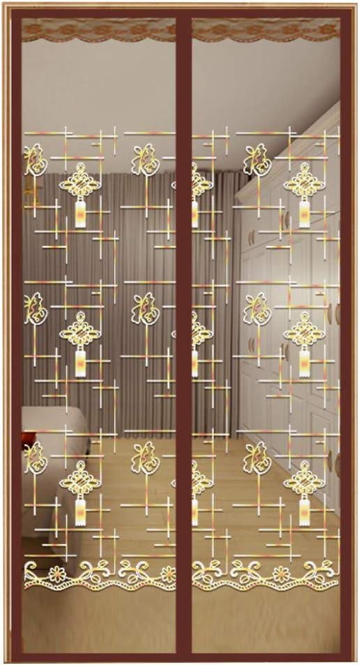 LW WL - Cortina mosquitera magnética para Puerta corredera, Cierre magnético, para Patio, balcón, Puertas correderas, sin Perforaciones, Transpirable: Amazon.es: Hogar