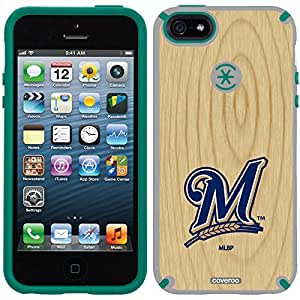 Speck iphone 5c Grey CandyShell Case with Milwaukee Brewers Wood Emblem Design by Coveroo