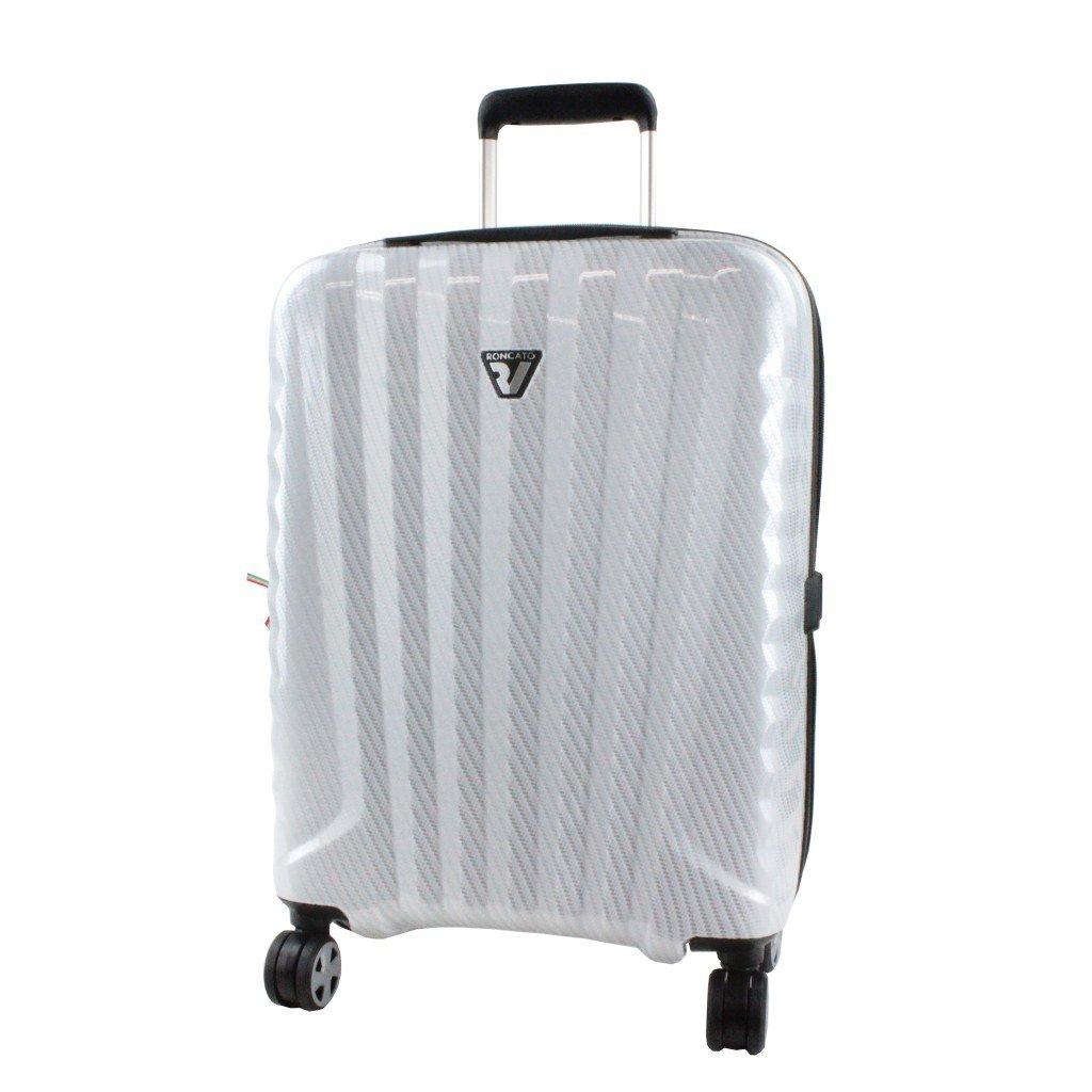 RONCATO ロンカート スーツケース UNO PREMIUM ウノ プレミアム キャリーケース 4輪 35L 機内持ち込み可能 5173 B06WV9V14Y ホワイト ホワイト