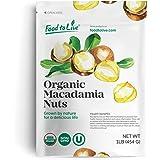 Food to Live Organic Macadamia Nuts (Raw) (1 Pound)
