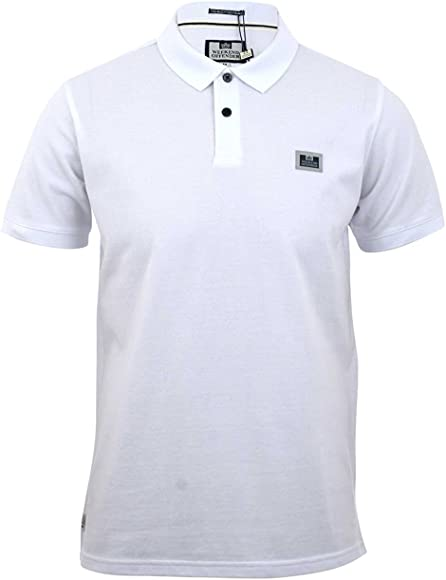 Weekend Offender - Polo - para Hombre Blanco Blanco Large: Amazon ...