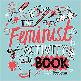 Amazon Feminist Activity Book 9781580056304 Gemma Correll Books