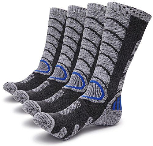 Gosuban-2-Pairs-Antiskid-Wicking-Outdoor-Multi-Performance-Hiking-Cushion-Socks-for-Men-and-Women-Assort-Colors