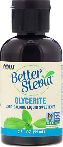 Stevia Glycerite A F – Now Foods – 2 oz – Liquid