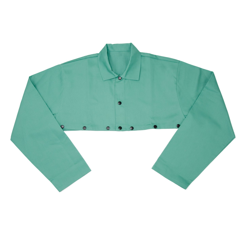 IRONCAT 7051 XL Irontex FR Cotton Cape Sleeve, XL, Green