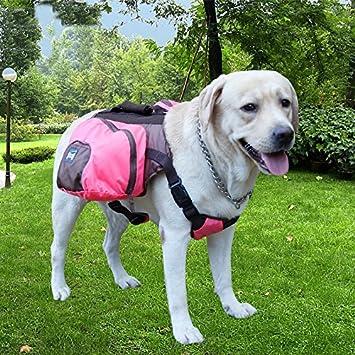 Tragetasche Geschirr Wandern verstellbare Satteltasche ParaCity Hunde-Rucksack f/ür Haustiere f/ür Reisen ultraleicht Camping