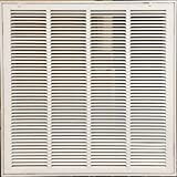 """KozziAir Steel Return Filter Grille Stamped-Face 20"""" X 20""""(Duct Opening Size)"""