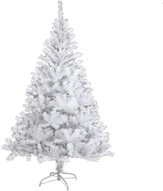 Weiß 120 cm Deko Christbaum Kunstbaum Weihnachtsbaum PVC Künstlicher Tannenbaum