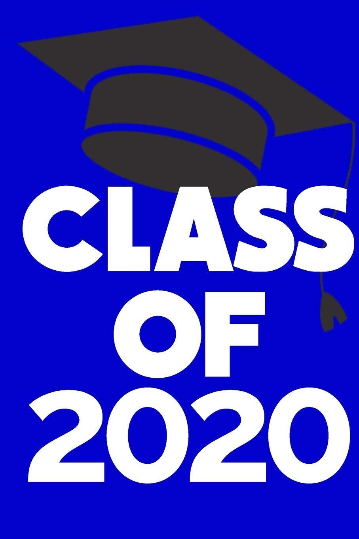 Graduation Images 2020.Amazon Com Class Of 2020 Graduation Cap Notebook Journal