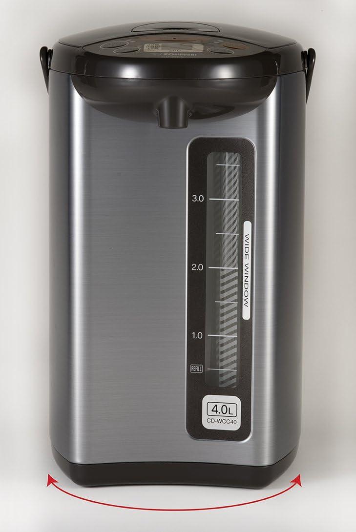Silver ZOJI Zojirushi CD-WCC40 Micom Water Boiler and Warmer