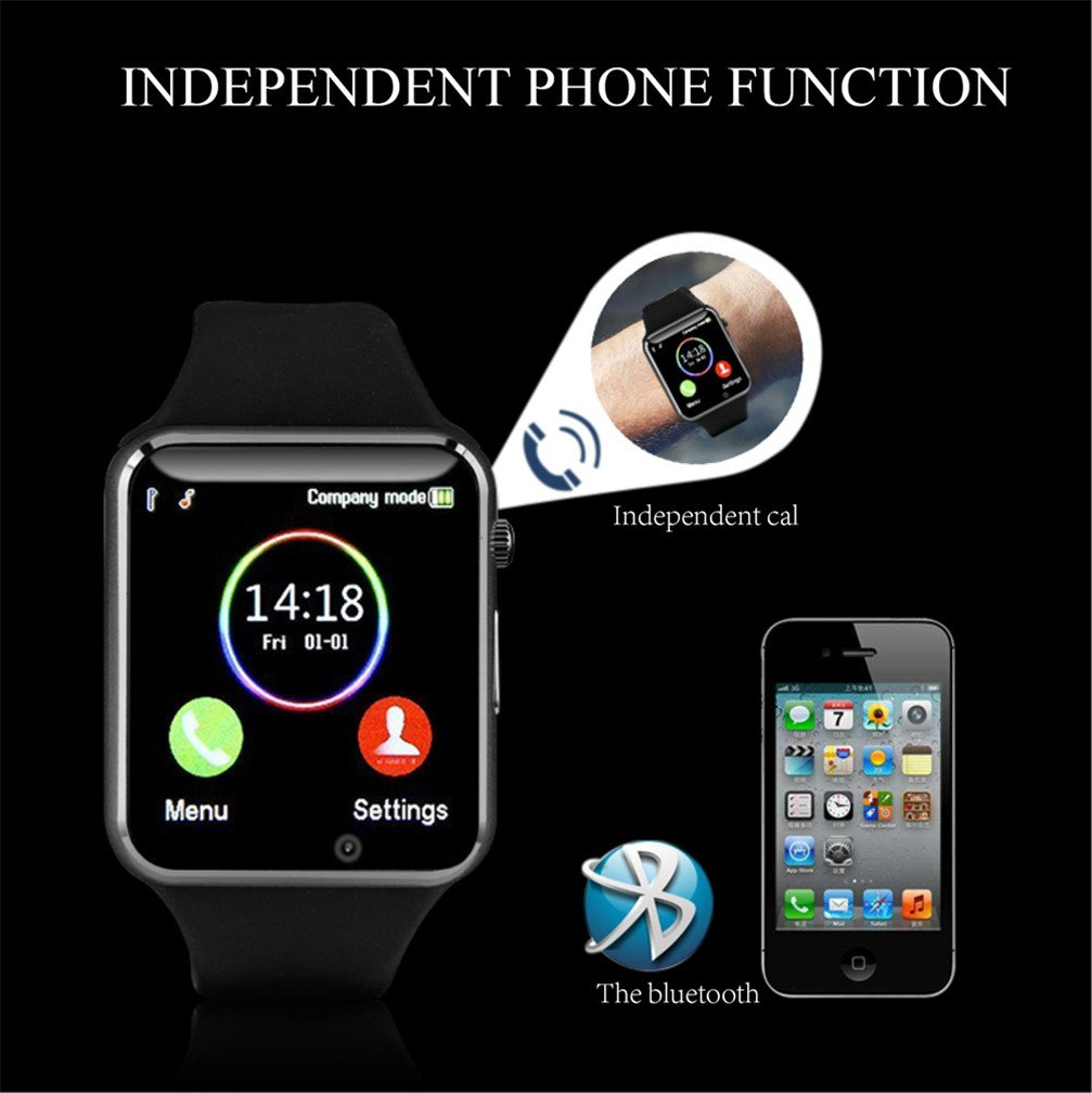 Bluetooth Smartwatch Unlocked Watch Phone can Call and Text with ... 4516504c7