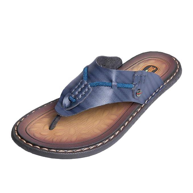 Chancletas Verano Masaje panpany Casual Hombre Sandal Zapatos De N08wOPnkX