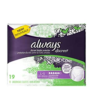 Amazon Com Always Discreet Incontinence Pads For Women