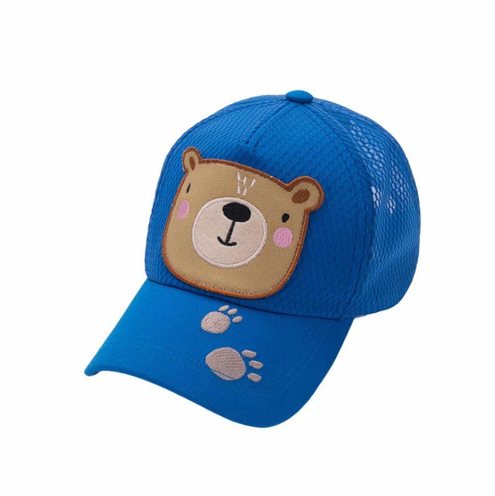 Emigeno Little Boys Baseball Cap UPF 50+ Sun Hat, Age 2-8 Navy Blue