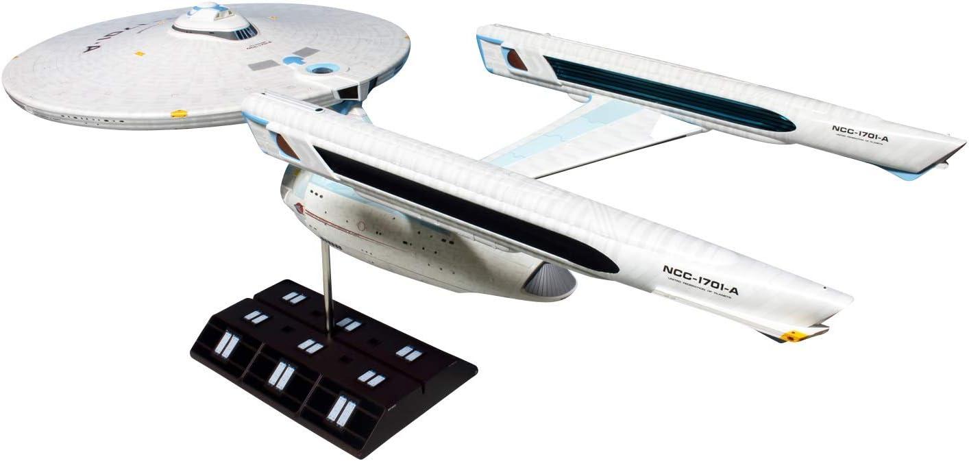 Star Trek USS Enterprise Refit Polar Lights 1//350 Saucer Section Upper /& Lower.