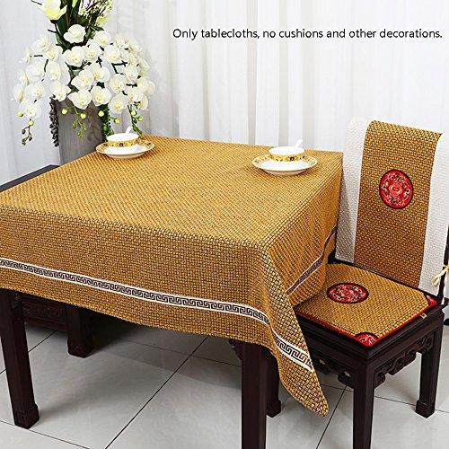 5 150150cm Flashing- Tissu Matériel Rectangle (voitureré) Nappe, Nordic Simplicity Table basse Salon Sofa Dust Cloth (Couleur    5, taille   150  150cm)