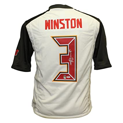 a8d888b972d Jameis Winston Autographed Signed Tampa Bay Buccaneers Nike On Field Jersey  - PSA/DNA Authentic