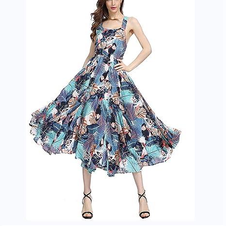 Vestido de Mujer Falda sin Tirantes de la Playa del Vestido de la ...