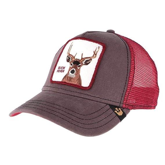 c81c386f Goorin Bros. Mens Animal Farm Baseball Trucker Cap Baseball Cap - Brown -