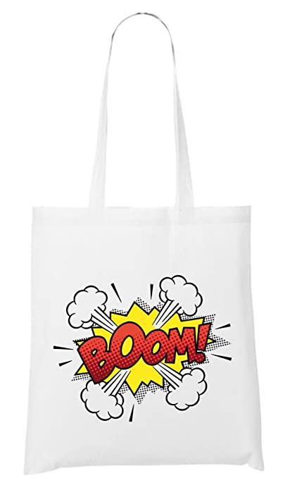 Certified Freak Boom Comic Bolsa Blanco: Amazon.es: Zapatos ...
