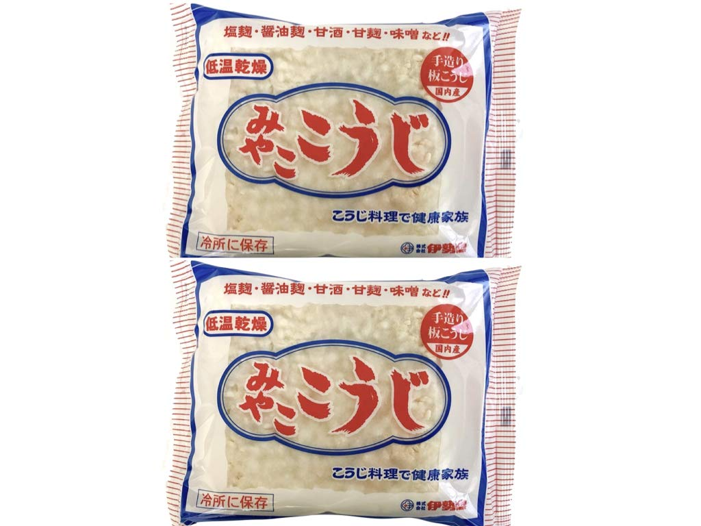 MIYAKO DRIED KOJI. MISO and SHIOKOJI are made and meat and fish are delicious. is a traditional Japanese food that is good for health. With Original recipe collection. (14.00) by MIYAKO KOJI