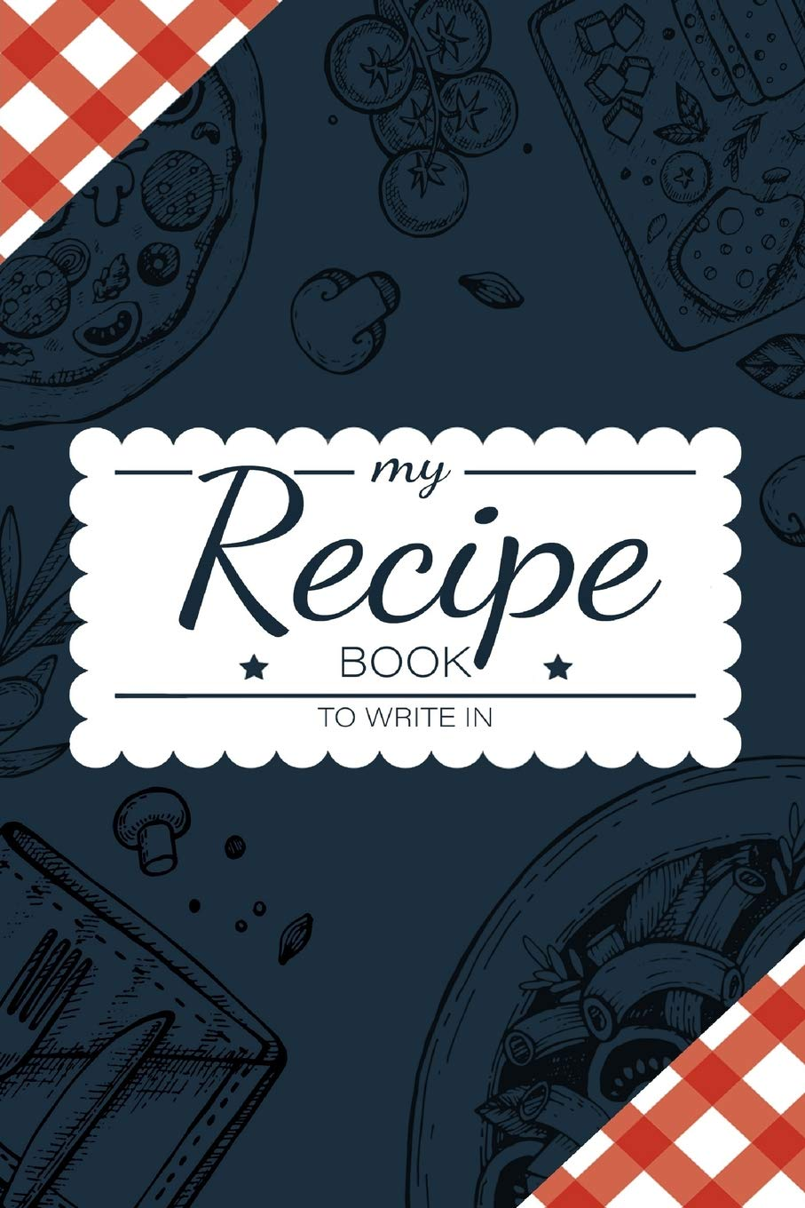 Recipe Book Write Personalized Organizer product image