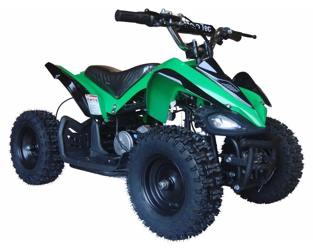 Com Mototec 24v Battery Powered Ride On Color Green Sports Outdoors