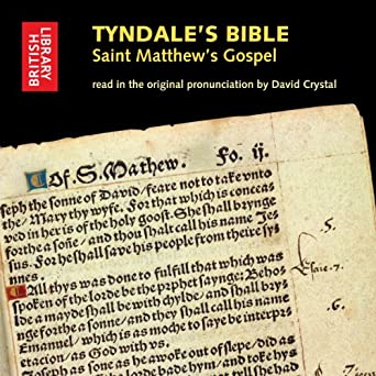 ae7ba52ccf12 Amazon.com  Tyndale s Bible  Saint Matthew s Gospel  Read in the ...