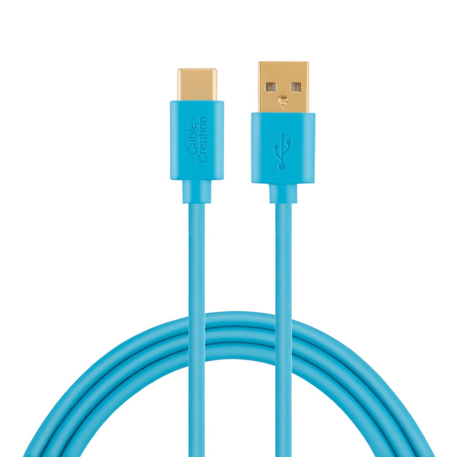 Type USB C Cable, CableCreation 0.8ft Short USB C to USB 2.0 A Cable, for Macbook 12 inch, Google Nexus 5 X 6P, Pixel C, Nokia N1 Tablet etc, Black CC0229