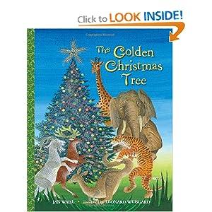 The Golden Christmas Tree (Big Little Golden Book) Jan Wahl and Leonard Weisgard